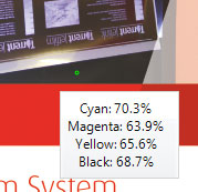 Preview with Dot Meter